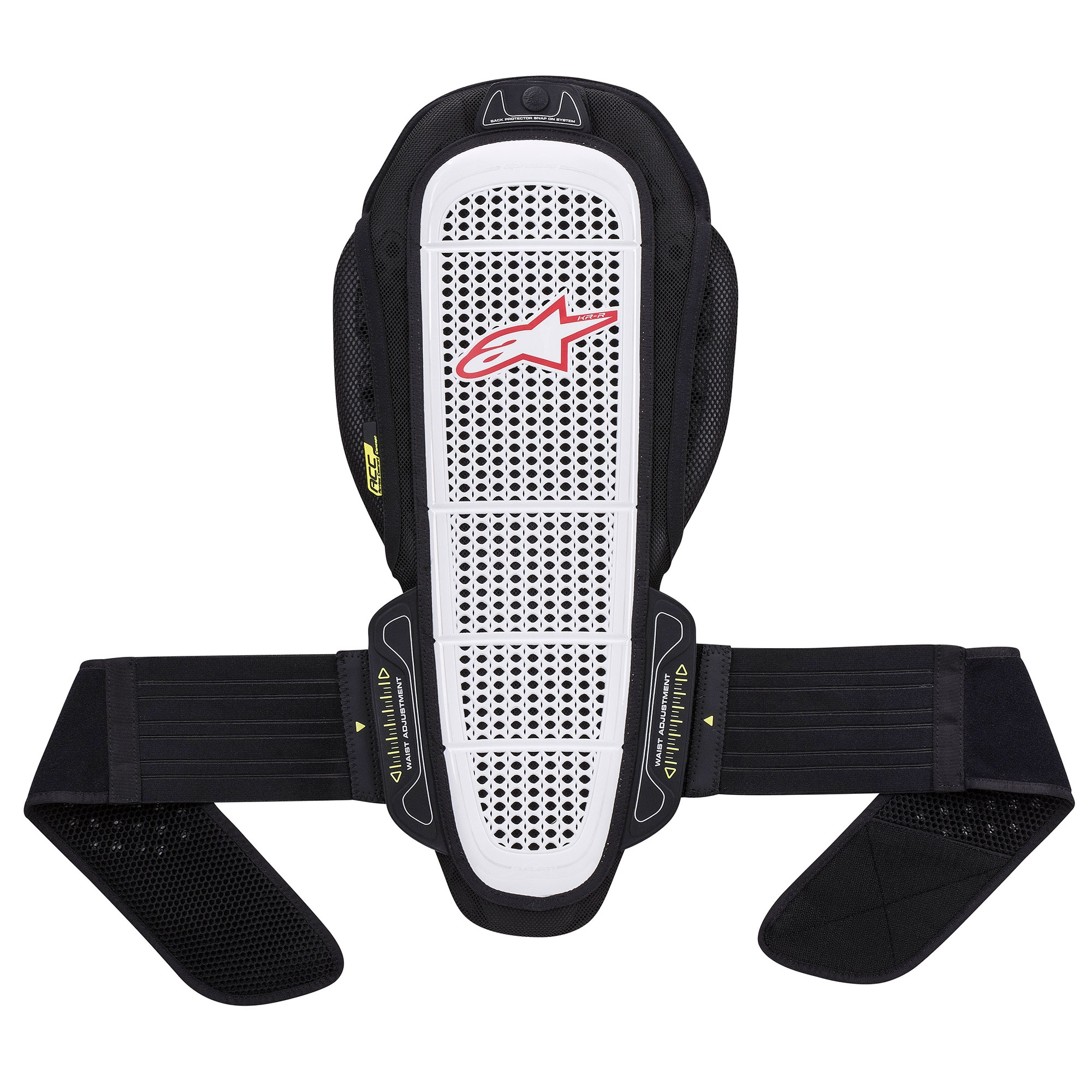 Details about Alpinestars Nucleon KR-R Motorcycle / Motorbike Snap-On Back  Protector