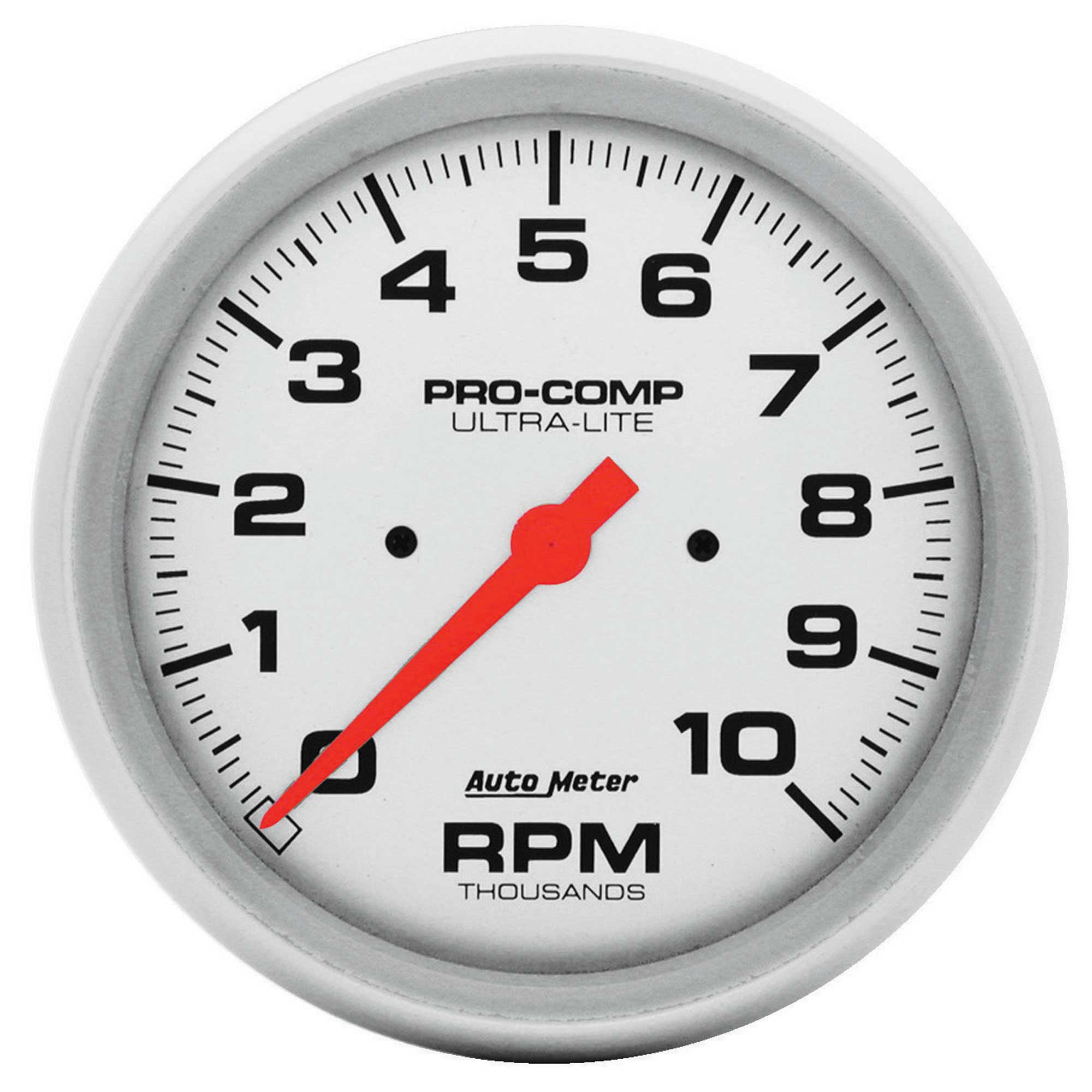 Details about Auto Meter 5 Inch (127mm) Dash Pro Comp Tachometer - on