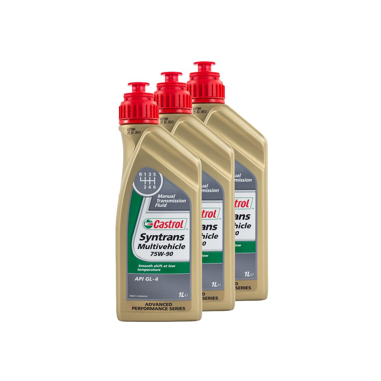 Details about 3 Litres Castrol Syntrans Multivehicle 75W90 Fully Synthetic  Gear Oil - Ford
