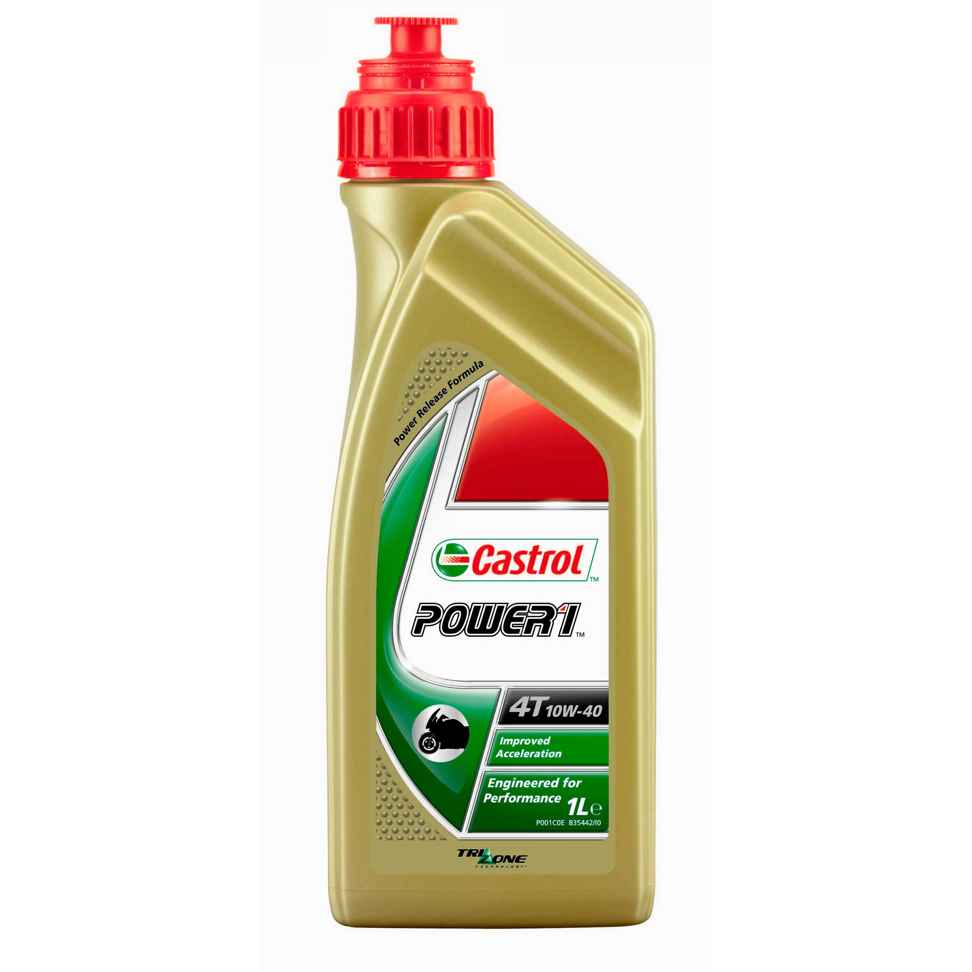 Castrol 20W-50 4T Motorcycle Oil - 1 Quart Bottle, (Pack ...