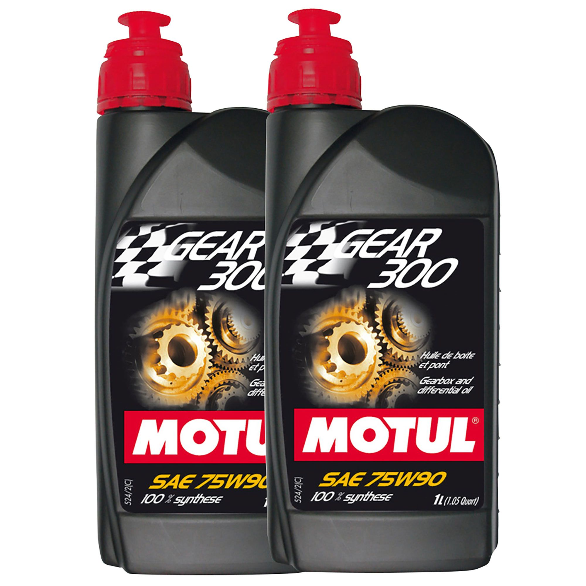 Details about Motul Gear 300 75W90 100% Synthetic Rally / Racing Gearbox  Oil - 2 x 1 Litre