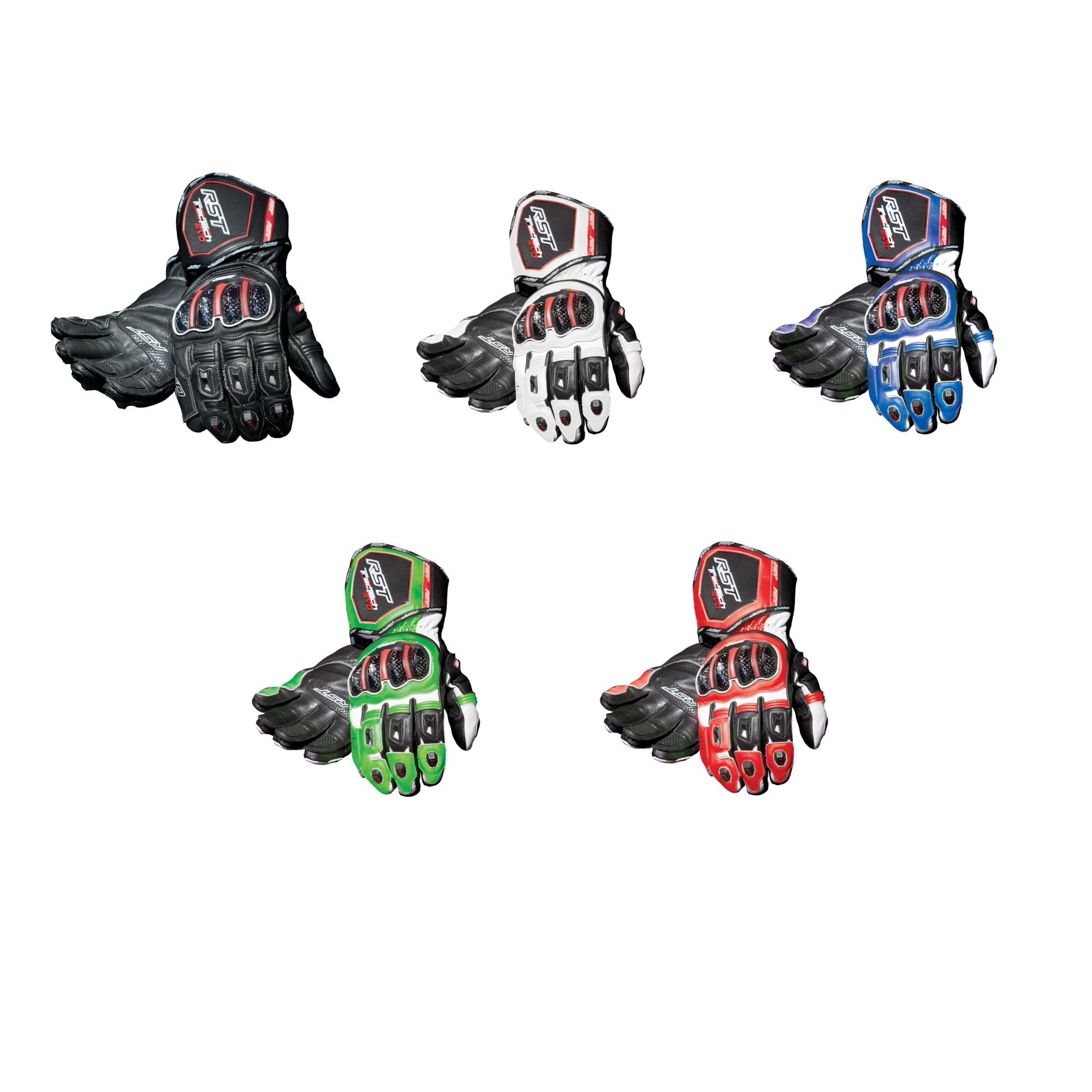 RST-Tractech-Evo-CE-Approved-Leather-Motorcycle-Bike-Gloves thumbnail 14