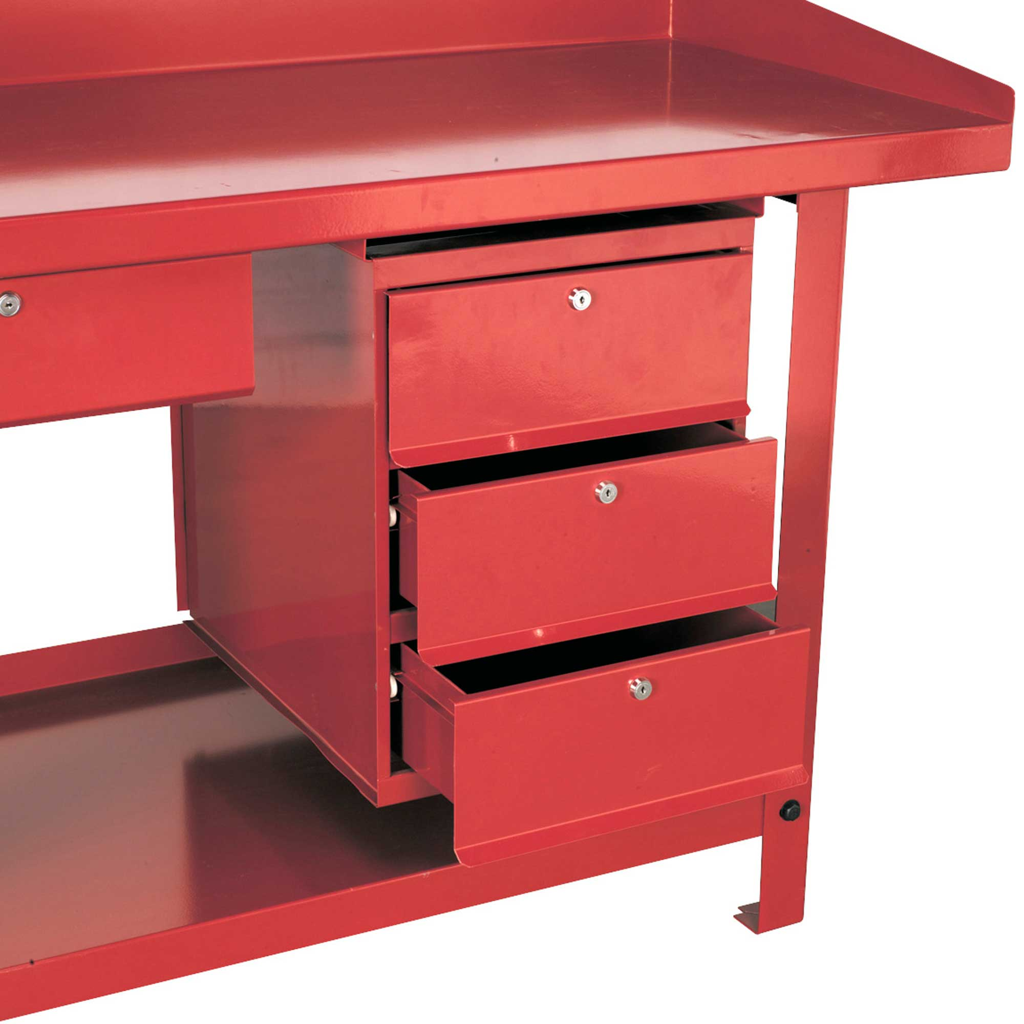 Details About Sealey 3 Storage Drawer Unit For Ap10 And Ap30 Series Garage Work Benches Ap3