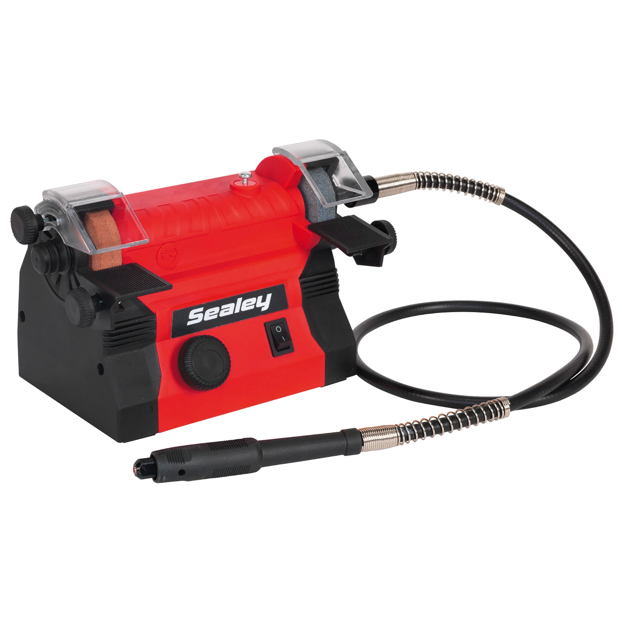 Sealey Mini Bench Grinder Grinding 50mm Flexible Drive