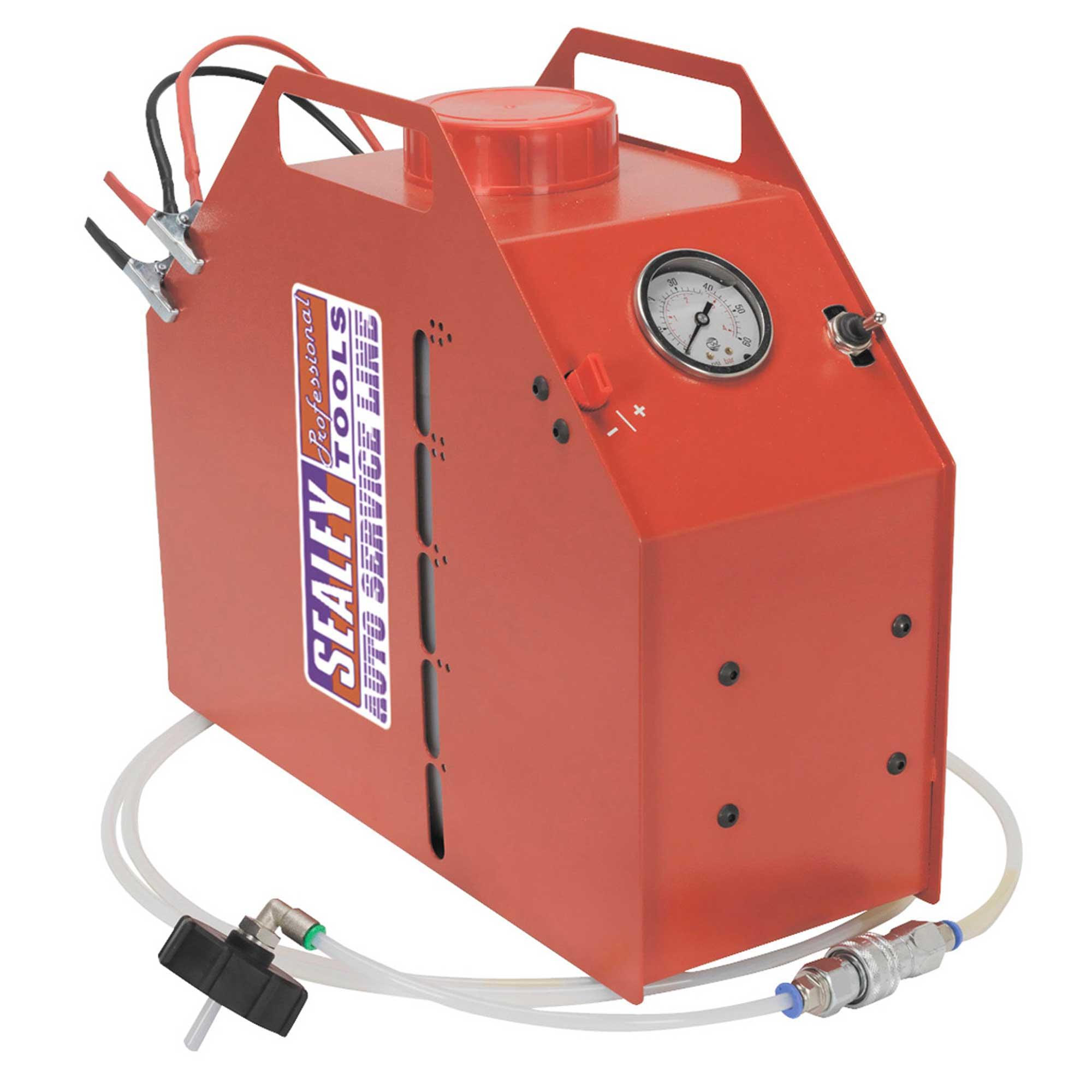Details about Sealey One Man Car/Vehicle Brake Fluid Bleeding/Bleeder 12V  Battery - VS0208